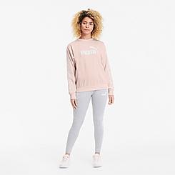 Women's Puma Amplified Crewneck Sweatshirt
