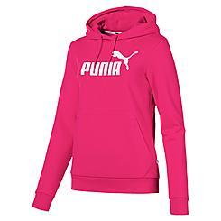 Women's Puma Essentials Logo Fleece Hoodie (Plus Size)
