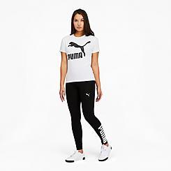 Women's Puma Athletic Logo Tights