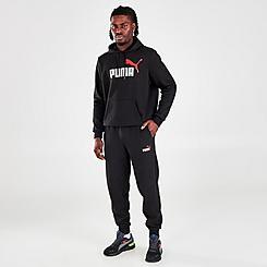 Men's Puma Logo Jogger Pants