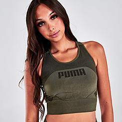 Women's Puma Evostripe Evoknit Crop Top