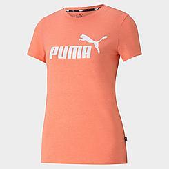 Women's Puma Essentials Logo Heather T-Shirt