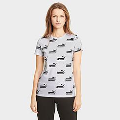 Women's Puma Amplified Allover Print T-Shirt