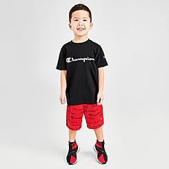 Boys' Toddler and Little Kids' Champion Heritage T-Shirt and Shorts Set