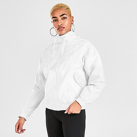 Puma Women's Tailored For Sport Animal Print Winterized Track Jacket in White/White Size X-Small Fleece Size & FitRelaxed, slightly oversized fit is comfortable and roomy Elastic hem and cuffs seal in the fit Product FeaturesSmooth exterior with polar fleece lining for warmth Cheetah print accent at upper body and Puma branding for style Full-zip front with high stand collar Machine wash The Puma Tailored For Sport Animal Print Winterized Track Jacket is imported. A '90s icon is back and warmer than ever on the Women's Puma Tailored For Sport Animal Print Winterized Track Jacket. Featuring a plush, warm interior lining and classic track jacket details, this topper is a must on chilly days when you still want to look hot. Size: X-Small. Color: White. Gender: female. Age Group: adult. Pattern: Animal Print/Cheetah. Puma Women's Tailored For Sport Animal Print Winterized Track Jacket in White/White Size X-Small Fleece