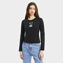 Women's Puma BMW M Motorsport Street Long-Sleeve T-Shirt