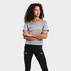 Women's Puma BMW M Motorsport Logo T-Shirt