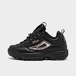 Women's Fila Disruptor 2 Metallic Casual Shoes