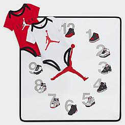 Infant Jordan First-Year Milestone Bodysuit and Blanket 3-Piece Set