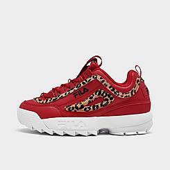 Women's Fila Disruptor 2 Leopard Casual Shoes