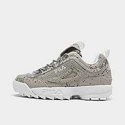 Women's Fila Disruptor 2 Snake Print Casual Shoes
