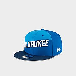 New Era Milwaukee Bucks NBA Two Tone 9FIFTY Snapback Hat