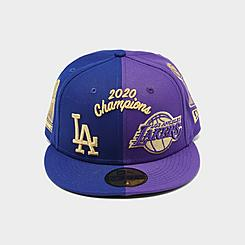 New Era City of Los Angeles Split 59FIFTY Fitted Hat