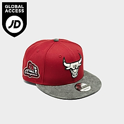 New Era Chicago Bulls NBA Suede Bill 9FiFTY Snapback Hat