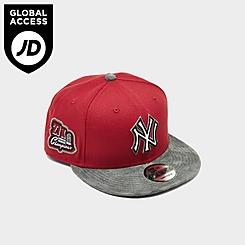 New Era New York Yankees MLB Suede Bill 9Fifty Snapback Hat