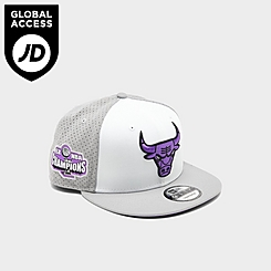 New Era Chicago Bulls NBA Champions Mesh Back 9FIFTY Snapback Hat
