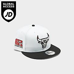 New Era Chicago Bulls NBA Champions 9FIFTY Snapback Hat