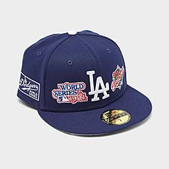 New Era Los Angeles Dodgers MLB World Champs Patch 59FIFTY Fitted Hat