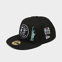 New Era Brooklyn Nets City Transit NBA  59Fifty Fitted Hat
