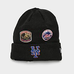 New Era New York Mets MLB Champions Knit Beanie Hat