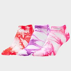 Women's Sof Sole Tie-Dye 3-Pack No-Show Socks