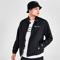 Men's Champion Nylon Warm-Up Jacket