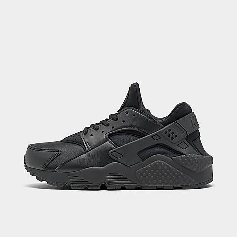 Nike Women's Air Huarache Casual Shoes in Black/Black Size 6.5 Leather/Spandex/Plastic Women's Nike Air Huarache Casual Shoes:A must-have model for stylish ladies everywhere, the Women's Nike Air Huarache Casual Shoes deliver a contemporary spin on a retro model. A neoprene inner bootie fits close to the foot, offering support and unmatched comfort. Synthetic material and thermoplastic hardware form a supportive cage over the upper, delivering as much function as fashion. Offered in an array of colorways and offering comfort that truly cannot be eclipsed, the Air Huarache will continue to reign supreme as a stunner. With modern good looks and plenty of comfort, the Women's Nike Air Huarache Casual Shoe is a must-have from the streets to the runway. Sizing Information: Runs Small: Consider sizing up for a more comfortable fit Product Features: Neoprene upper with leather, spandex and thermoplastic hardware Air-Sole units for shock absorption and cushioning Soft Phylon foam Dynamic Fit inner sleeve for a foot cradling fit Rubber sole with flex grooves for traction The Nike Air Huarache is imported. Size: 6.5. Color: Black. Gender: female. Age Group: adult. Material: Leather/Spandex/Plastic. Nike Women's Air Huarache Casual Shoes in Black/Black Size 6.5 Leather/Spandex/Plastic