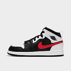 Little Kids' Air Jordan Retro 1 Mid Casual Shoes