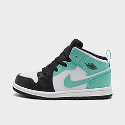 Kids' Toddler Jordan 1 Mid Casual Shoes