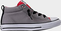 Boys' Little Kids' Converse Chuck Taylor Street Mid Casual Shoes