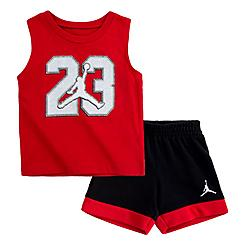 Boys' Infant Jordan Jumpman Muscle Tank and Shorts Set