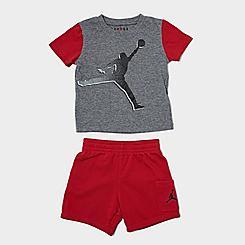 Boys' Infant Jordan Jumpman T-Shirt and Cargo Shorts Set