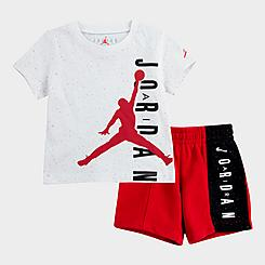 Boys' Infant Jordan Speckled T-Shirt and Shorts Set
