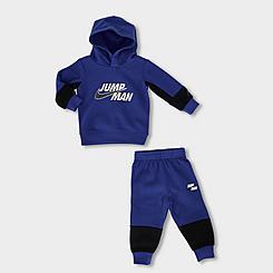 Boys' Infant Jordan Jumpman Fleece Hoodie and Joggers Set