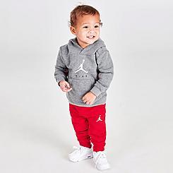 Infant Jordan Jumpman by Nike Hoodie, T-Shirt and Joggers Set (3-Piece)
