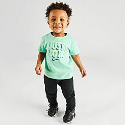 Infant Nike Just Do It T-Shirt and Jogger Pants Set