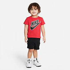 Kids' Infant Nike Futura T-Shirt and Cargo Shorts Set