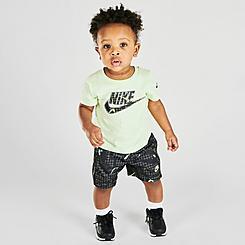 Boys' Infant Nike Glow T-Shirt and Shorts Set