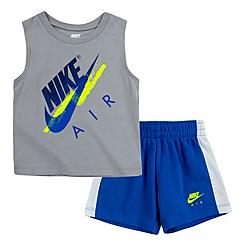 Boys' Infant Nike Air Muscle Tank and Shorts Set