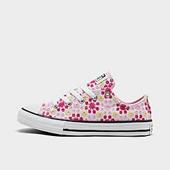 Girls' Little Kids' Converse Canvas Broderie Chuck Taylor All Star Casual Shoes
