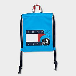 Tommy Jeans x Space Jam: A New Legacy Marvin the Martian Flag String Backpack