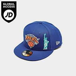 New Era New York Knicks NBA Statue 59FIFTY Fitted Hat