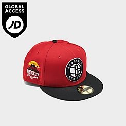 New Era Brooklyn Nets NBA Sun Side Patch Two-Tone 59FIFTY Fitted Hat