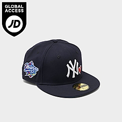New Era New York Yankees MLB 1998 World Series Patch 59FIFTY Fitted Hat