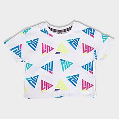 Girls' Fila Triangle Logo T-Shirt