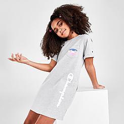 Girls' Champion Pocket Script Dress