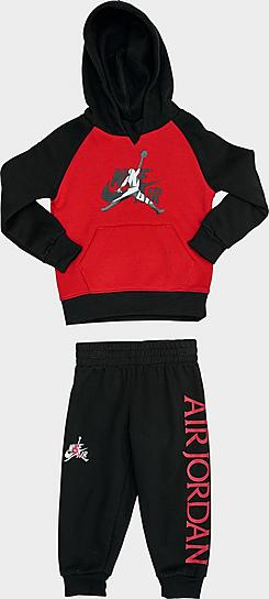 Boys' Toddler Jordan Mashup Classics Hoodie and Jogger Pants Set