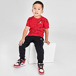 Boys' Toddler Jordan All Star Scribble T-Shirt and Jogger Pants Set