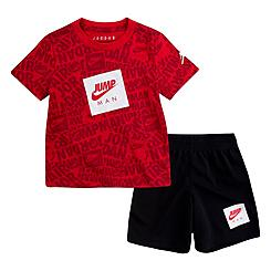 Boys' Toddler Jordan Jumpman AOP T-Shirt and Shorts Set