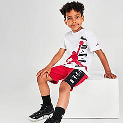 Boys' Toddler Jordan Speckled T-Shirt and Shorts Set